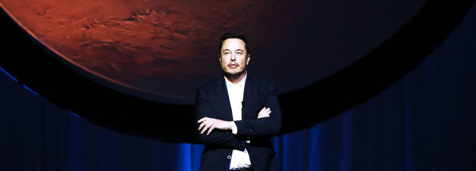 SpaceX founder Elon Musk plans to get humans to Mars by 2022