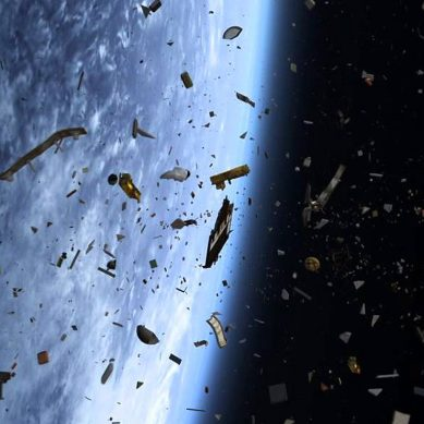 Japan gets ready to test its space junk grabbing space whip