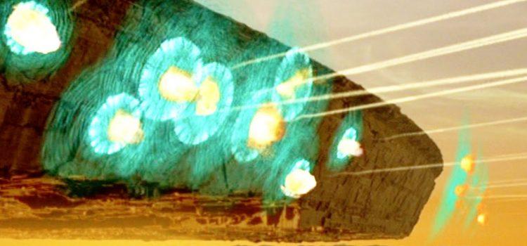 British Aerospace unveils the world's first laser deflector shield concept