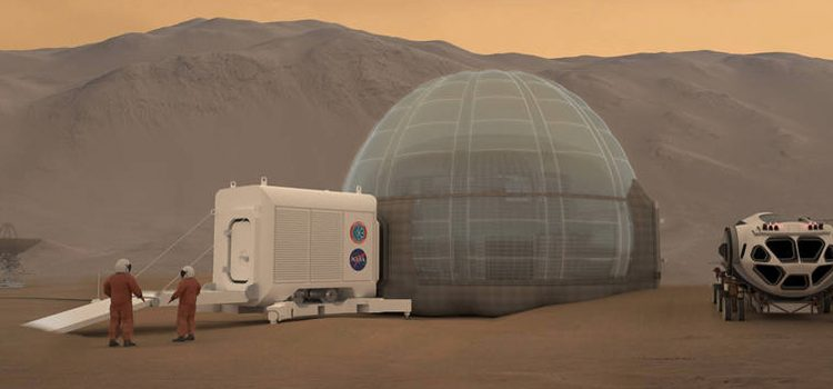NASA unveils its new Mars habitat concept