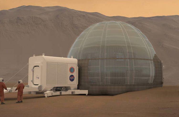 NASA unveils its new Mars habitat concept