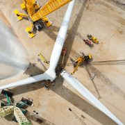 It's a monster, world's largest wind turbine means business