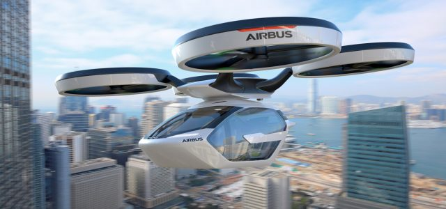 Airbus unveils PopUp, the sky taxi of the future