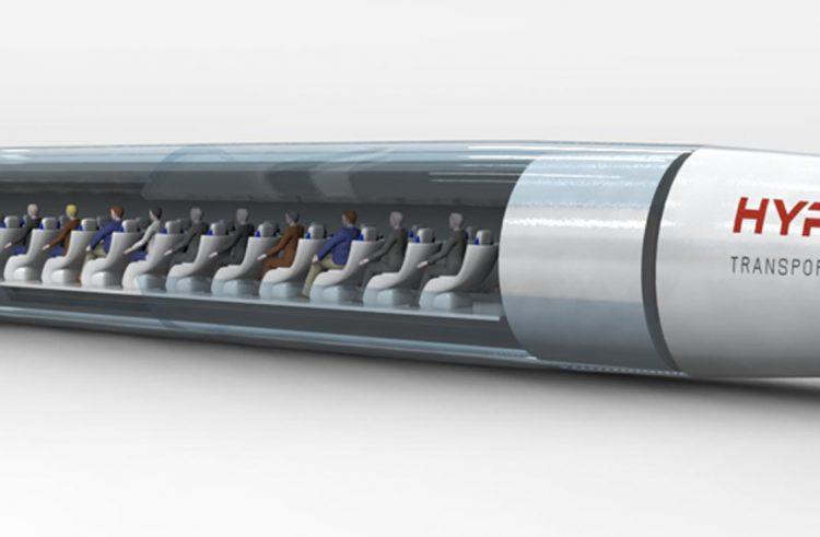 HTT shows off its concept Hyperloop passenger pod
