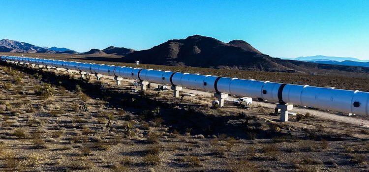 Hyperloop One announces first test run of its propulsion system in Las Vegas desert