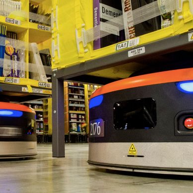 Amazon is on track be the world's first fully automated fulfilment company