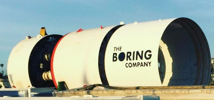 Elon Musk bought a boring machine but is it for LA or Mars?