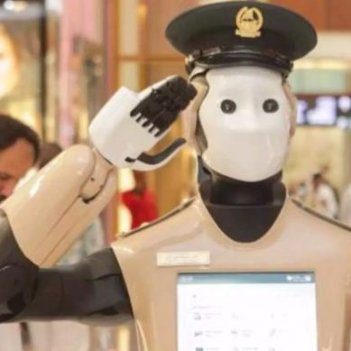 Dubai's first Robocop starts active duty