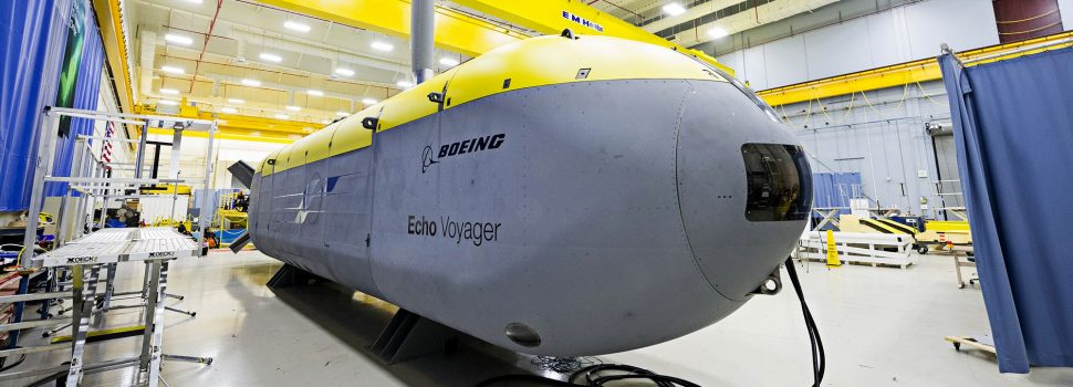 Boeing teams up with America's biggest ship builder to build autonomous subs