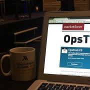 Futurist in London: Behind the scenes at MarketForce's OpsTechFS 2017 event