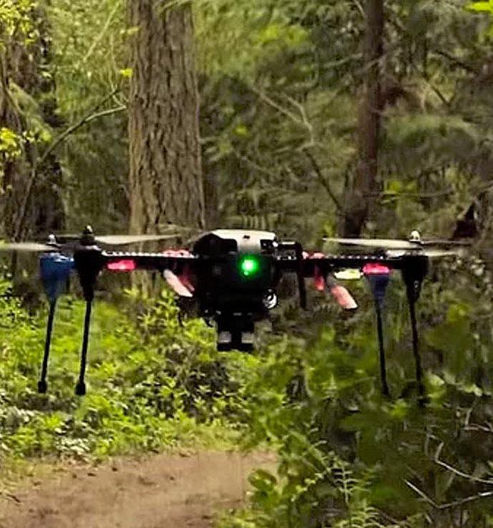 Nvidia's latest autonomous drone flies off grid