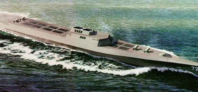 China wants to build a 20,000 tonne warship that submerges