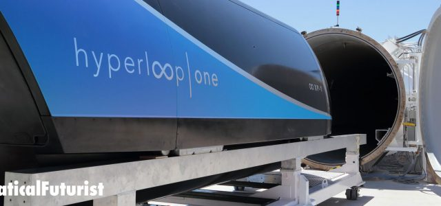 Hyperloop One's pod hits 192mph in first real world test