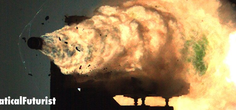 US Navy successfully tests it's latest Railgun at full power