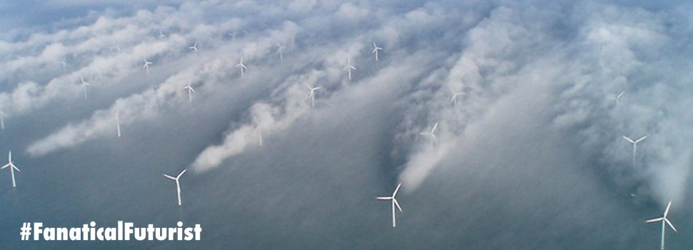 Strong winds in Europe push renewable energy prices negative