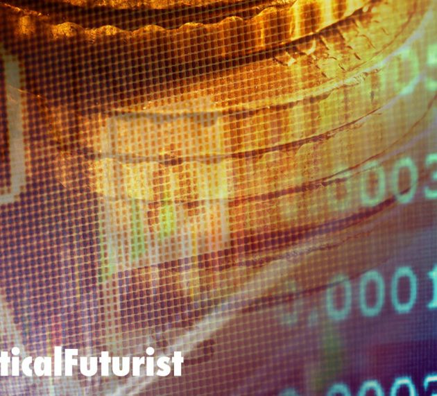 """Infographic: The Future of Money, a hundred year """"view"""""""
