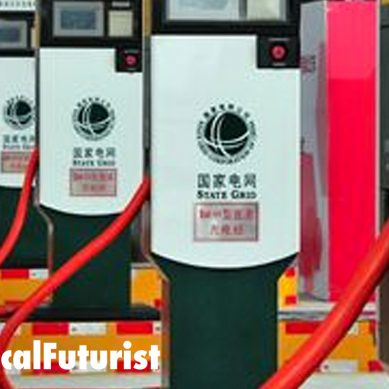 China unveils the world's largest electric vehicle charging network