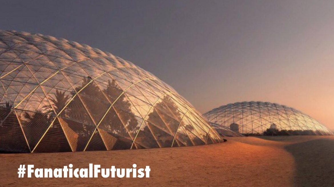 Dubai's first Martian Colony will be on Earth, in Dubai