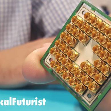 Watch: Intel unbox their exotic new 17 Qubit Quantum computing chip