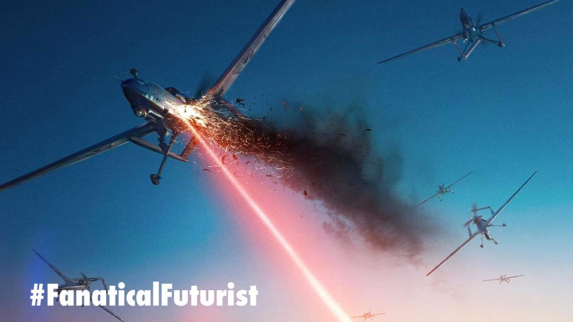 Lockheed shoots drones out of the sky with it's newest laser weapon
