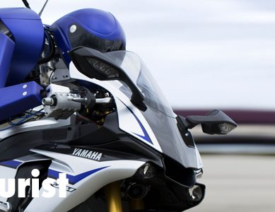 """Watch: Yamaha's insane Motobot race Valentino """"The Doctor"""" Rossi on the track"""