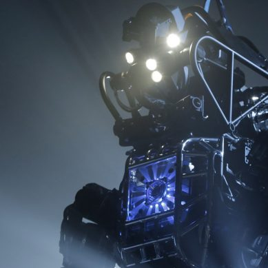 Humanoid ATLAS robot crams millions of years of evolution into two years