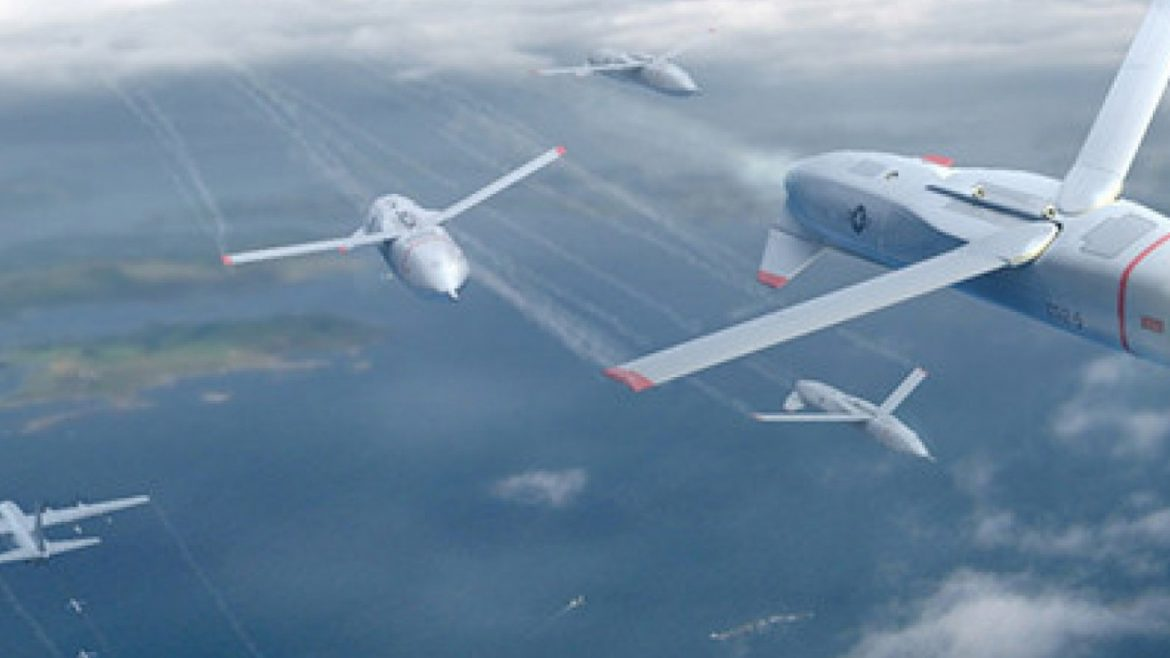The US airforce will rule the air with swarms of drones