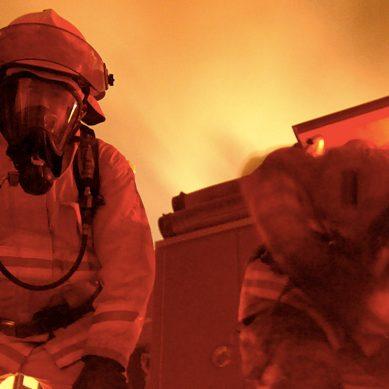 Guardian angel AUDREY keeps firefighters safe