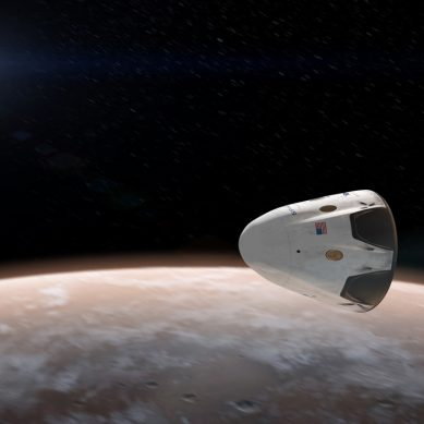 SpaceX begins tests on the rocket that will take humans to Mars