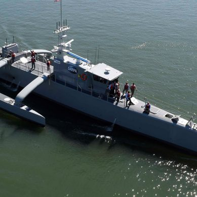 The world's first fully autonomous warship aces sea trials