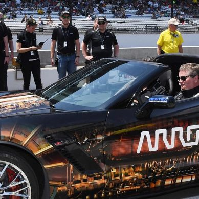 Nascar quadraplegic Sam Schmidt reaches 100mph in this tricked out Stingray