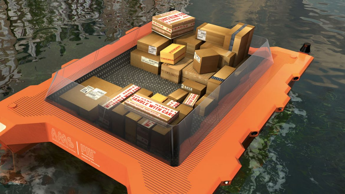 Autonomous Roboats to sail the canals of Amsterdam