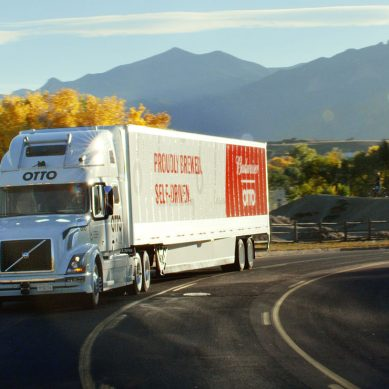 World first as Otto's self driving truck delivers much needed beer in Colorado