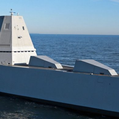 Capable of full autonomy, we go inside the stealth destroyer USN Zumwalt