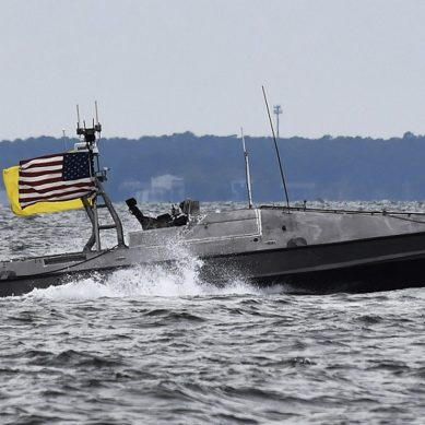 US Navy protects Chesapeake Bay with swarms of its latest robotic boats