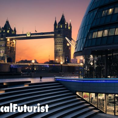 Futurist in London: The Future of Capital Markets, Accenture Capital Markets Summit