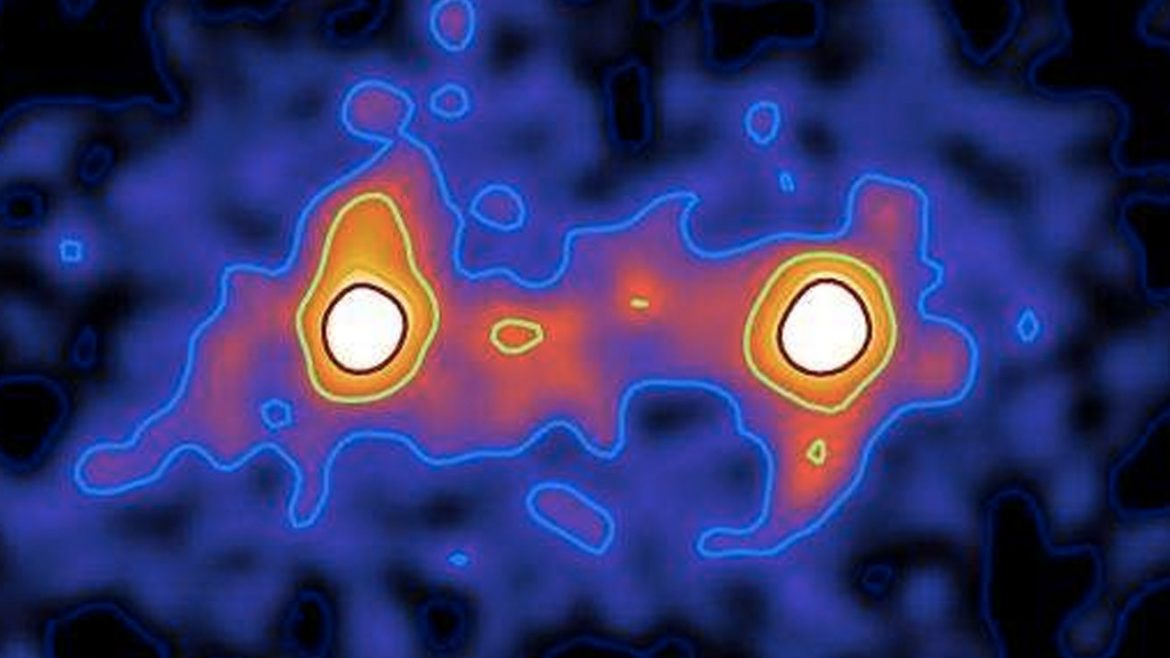 Researchers have captured the first images of a Dark Matter web