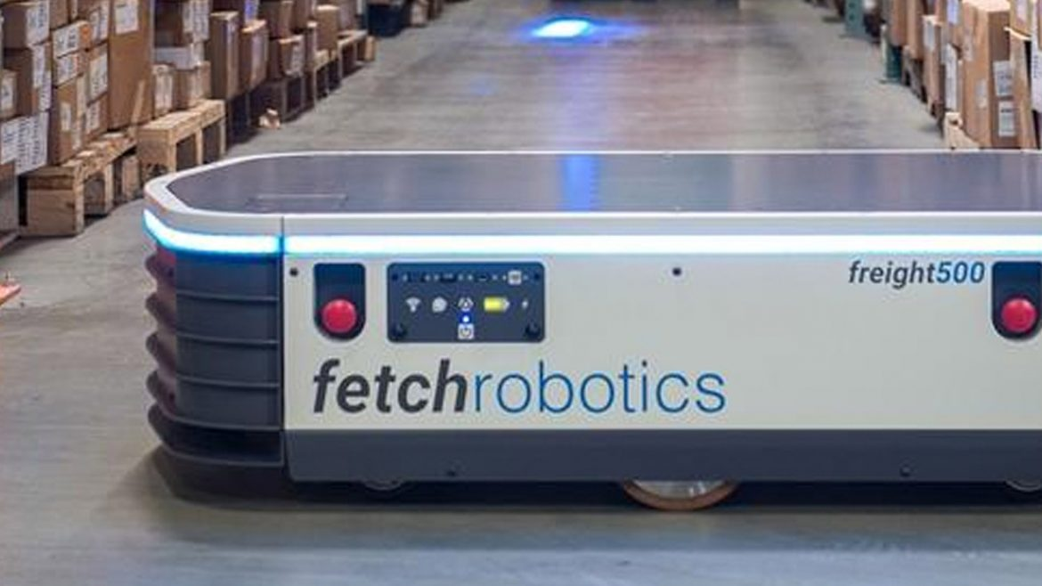 Meet the robot that wants to replace fork lift truck drivers