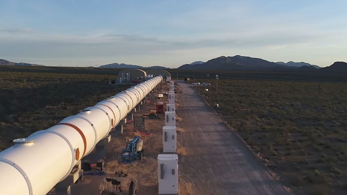 Hyperloop One completes the first successful test of its Hyperloop system
