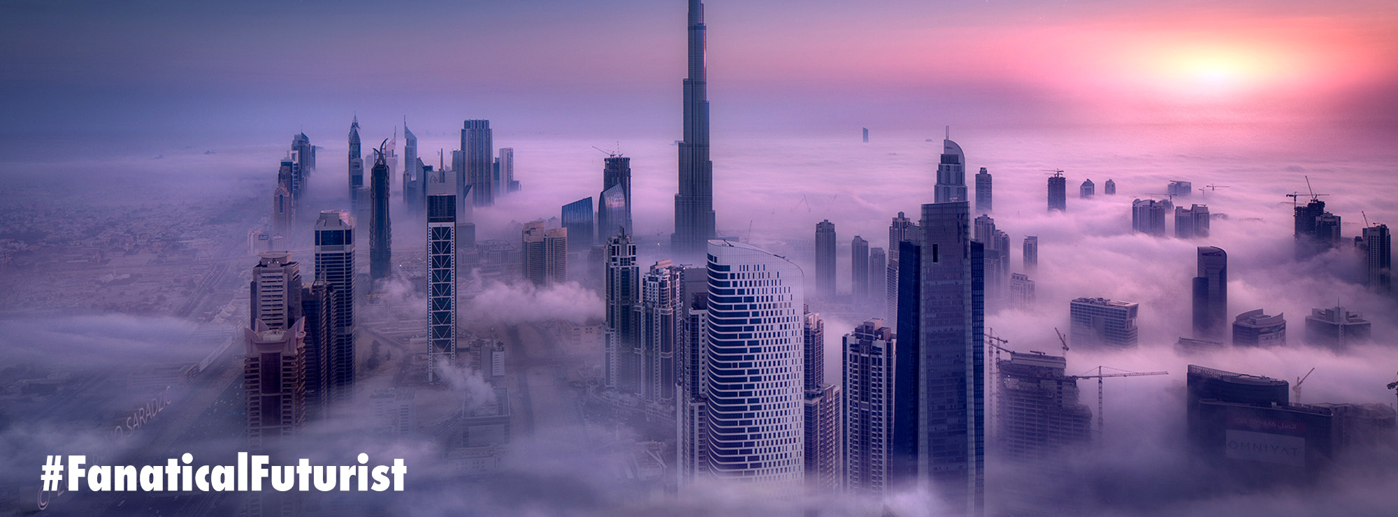 A quarter of Dubai's new buildings will be 3D printed by 2030 – Fanatical Futurist by International Keynote Speaker Matthew Griffin