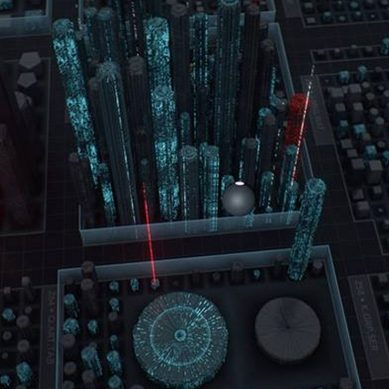 Virtual reality lets cyber security experts patrol their networks Matrix style