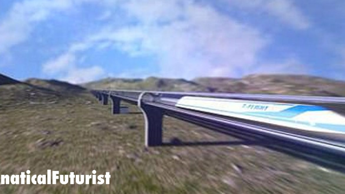 China announces plans to build a 2,500mph train to rival the Hyperloop