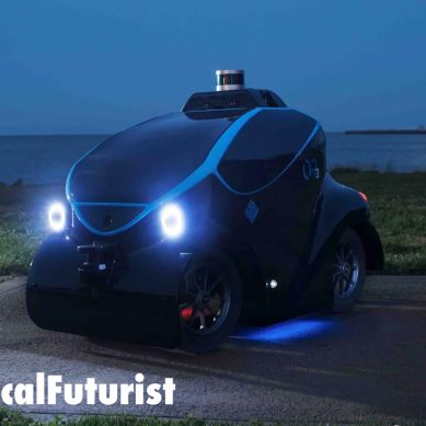 Dubai rolls out autonomous police cars to go alongside its robot police officers