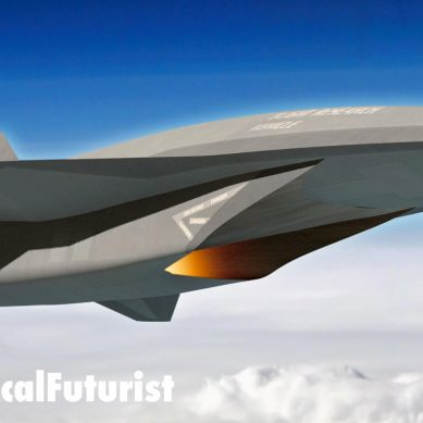 Mysterious hypersonic SR-72 demonstrator spotted in California