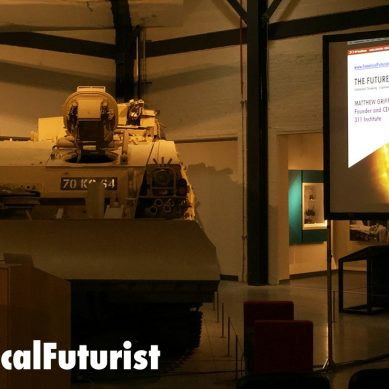 Futurist keynote, Swindon: The Future of Defence, UK Ministry of Defence