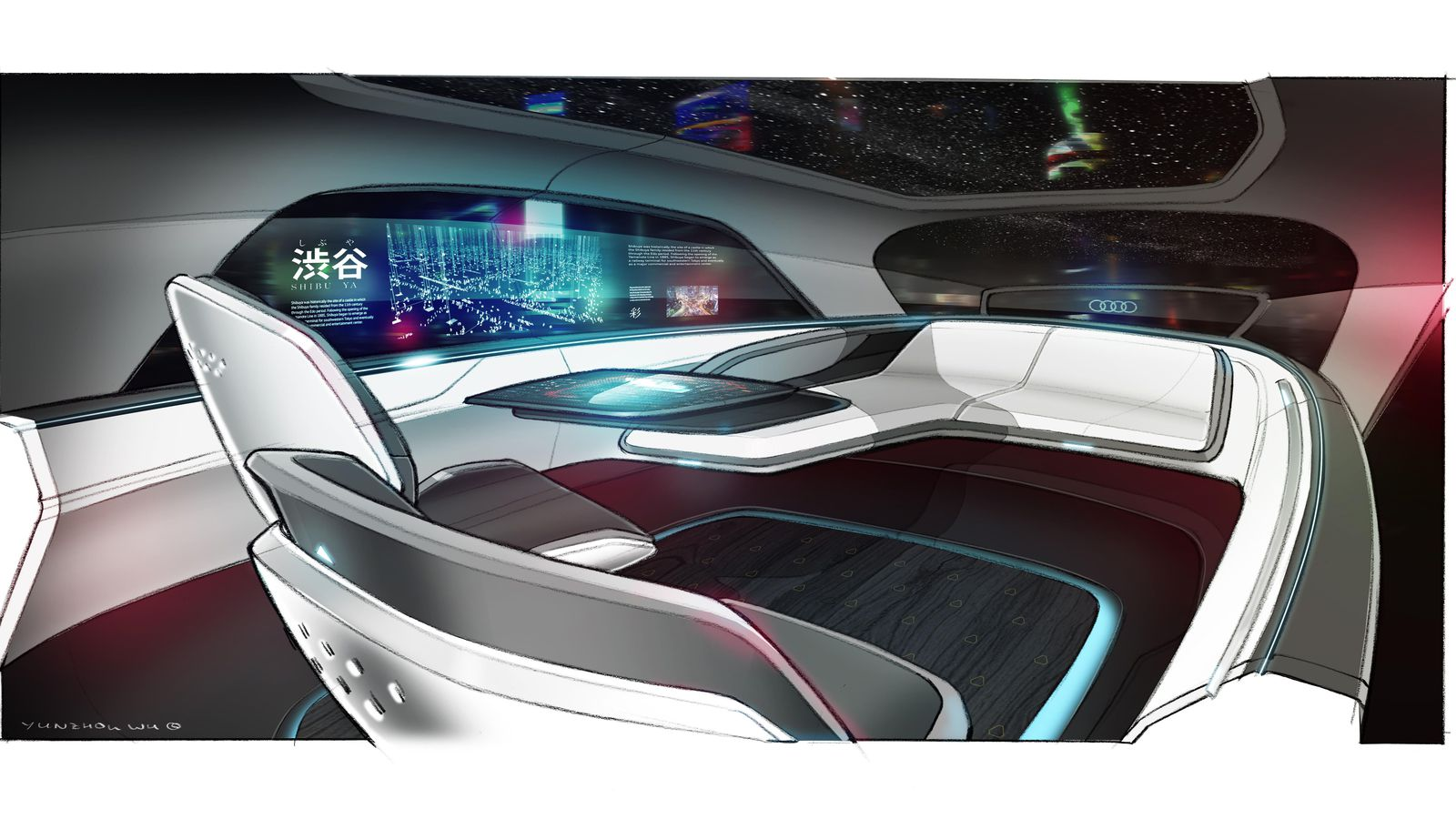 Audi Unveils A Future Without Cars Fanatical Futurist By - Audi future cars