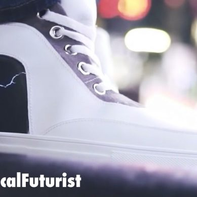 ShiftWear's custom E-Ink kicks bring clothing to life