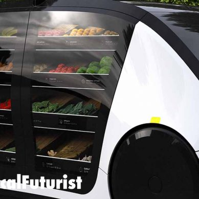 Re-imagining retail, Robomart unveil their autonomous, mobile shop concept