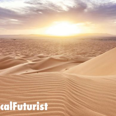 "New Chinese breakthrough ""soil"" turns desert into fertile farmland"