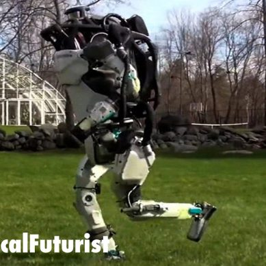 World's most advanced humanoid robot, ATLAS, goes for a run in the park